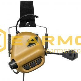 """EARMOR - Hearing Protector """"M32 Tactical  MOD3"""" Coyote"""