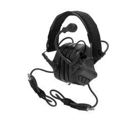 Earmor MilPro M32 Mark3 Dual Comm Black