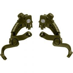 Earmor Mark 3 Arch Rails M16 Green for MARK3 ONLY