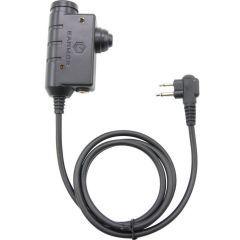 EARMOR - PTT MOTOROLA 2 pin